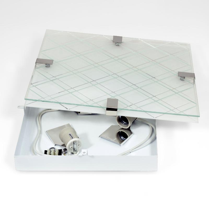 Premium glas deckenlampe deckenleuchte lampe e27 fassung for Deckenlampe e27