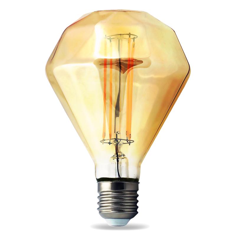 top led edison 2w 6w e27 e14 leuchtmittel rustikal lampe gl hbirne filament ebay. Black Bedroom Furniture Sets. Home Design Ideas