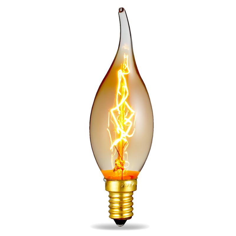 top edison 40w e27 e14 leuchtmittel rustikal lampe gl hbirne filament vintage ebay. Black Bedroom Furniture Sets. Home Design Ideas