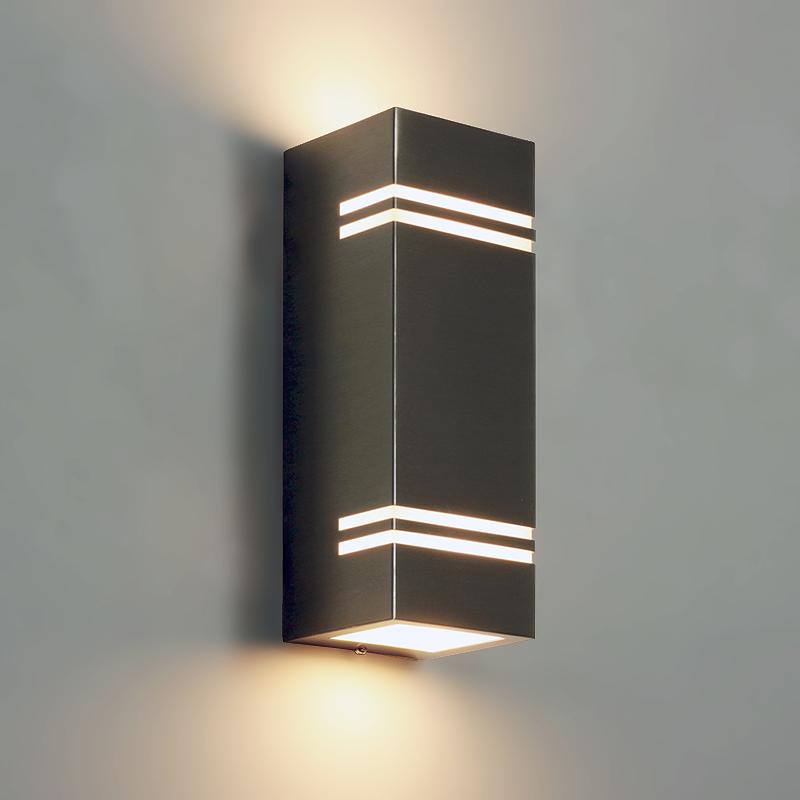 "Premium Lampe ""Keler"" Edelstahl Wandlampe Wandleuchte ..."